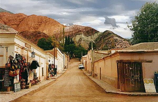 Purmamarca, una postal del Norte Argentino
