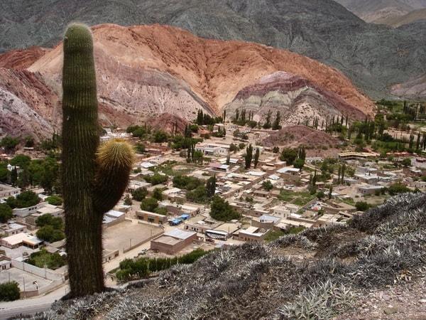 Vista de Purmamarca