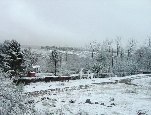 Invierno en Tafí del Valle