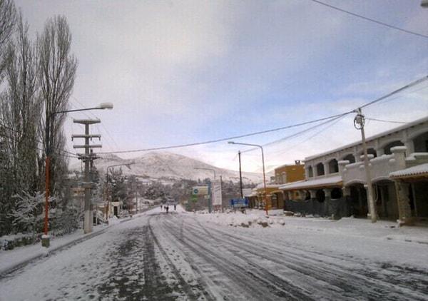 Nevada en Tafí del Valle