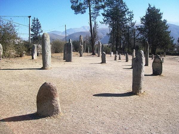 Menhires en Tafí del Valle