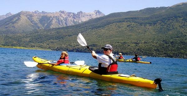 Kayak en Parque Nacional Los Alerces